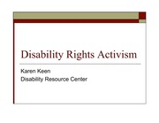 DisabilityRightsActivism