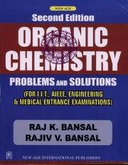 Organic Chemistry Problems and Solutions,2 Ed.pdf