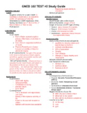 GNED102 Test 2 Study Guide (SPR 12)(1)