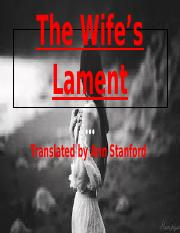 The Wife's Lament