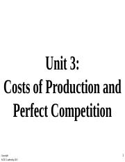 3.3- Costs of  Production Student Copy