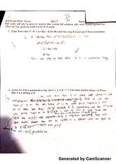 Abstract Algebra Homework 1