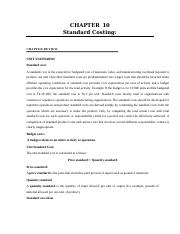 CHAPTER-10 stanadard costing.doc