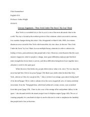 paper #1- first draft
