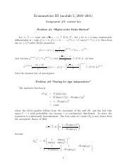 hansensolutions pdf solutions to bruce hansens econometrics rh coursehero com