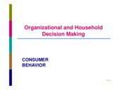 LEC  6 ORGANISATIONAL %26 HOUSEHOLD DECISION MAKING
