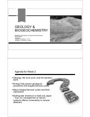 Lecture 2 - Geology and Biogeochemistry_BW
