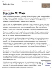 Supersize My Wage - NYTimes