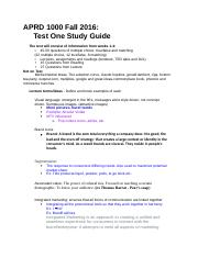 APRD 1000 Midterm 1 Study Guide.docx