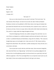 an analysis of the hesters experiences in the novel the scarlet letter by nathaniel hawthorne In nathaniel hawthorne's the scarlet letter,  for the community as a result of her experiences  of the novel, the shame of the scarlet letter is long.