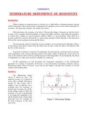 C2 TEMPERATURE  DEPENDENCE  OF  RESISTIVITY