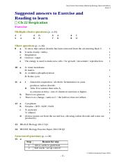 Chapter 22 (Respiration) exercise solution