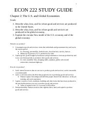 ECON 222 Study Guide 3.docx