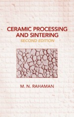 Ceramic Processing and Sintering - rahaman