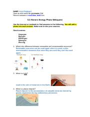 5.4 Honors Energy Photo Webquest_KyleReighard