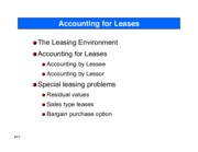 Chapter 21 Leases with solutions