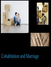 Lecture 14 - 3-6 - Cohabitation & Marriage - slides.pdf