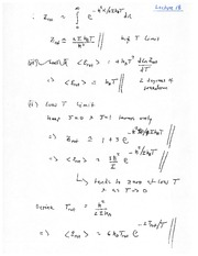 PHYSICS 150 Lecture Notes T Curves
