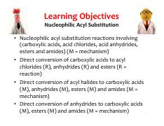 14 Nucleophilic Acyl Substitution - INK(1)