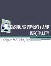 5. measuring poverty and inequality.pptx