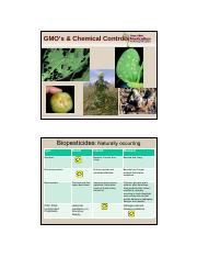 Lecture 12 GMOs and Chemical Controls-slides