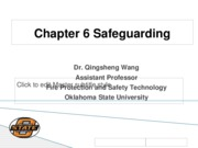 Chapter 6 Safeguarding