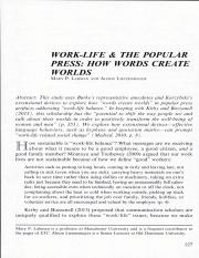Work life and the popual press 1.pdf