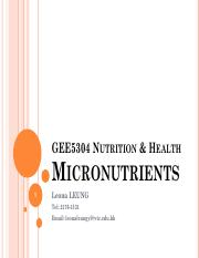 GEE5304 Nutrition and Health Topic 4 Micronutrients - revised.pdf