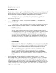 Bio 223 Lecture Notes 11