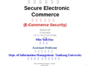992SEC09_Secure_Electronic_Commerce_E_Commerce_Security