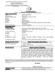 Laporan Polisi Model B Doc Kepolisian Negara Republik Indonesia Daerah Jawa Barat Resor Sukabumi Kota Jalan Perintis Kemerdekaan No 10 Kota Sukabumi Course Hero