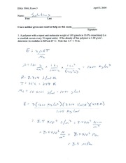 exam 3 solutions spring _09