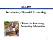 ACC100 Porter Chapter 3 Break-Out