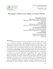 The Impact of Electronic Media on Urban Female .pdf
