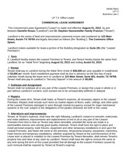 LP 7.3 - Office Lease Business Law 1
