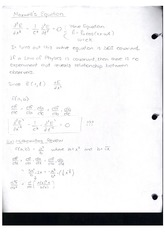 Class Note Maxwell Equation