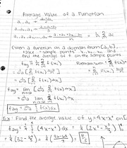 Volumes notes