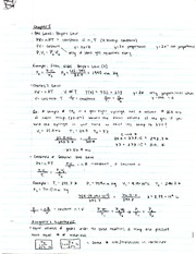 Chemistry Gas Laws Notes