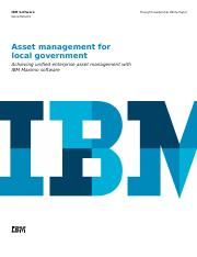 Asset Management for Local Government (with IBM).PDF