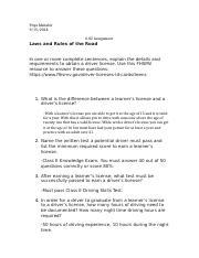 module 6 topic 2 answers drivers ed