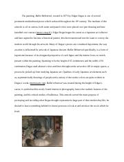arh university of south florida course hero 4 pages art and culture short essay docx