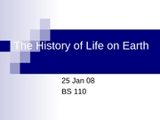 BS110 History of Life