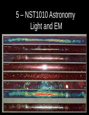 5- Light and the  Multispectral Universe.ppt