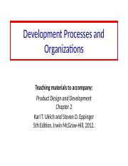 2 Development_Processes_and Organizations.ppt