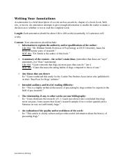 102 - Annotations-Writing.doc