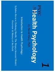 Health Psychology Biopsychosocial Interactions 7th Edition Pdf