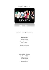 Study Case of Revlon