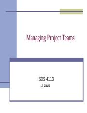 ISDS4113_Managing_Project_Teams.ppt