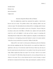 Gender Inequalities Paper