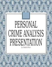 Personal crime analysis presentation.pptm